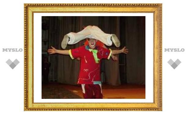 Тульские школьники попали в мир цирка