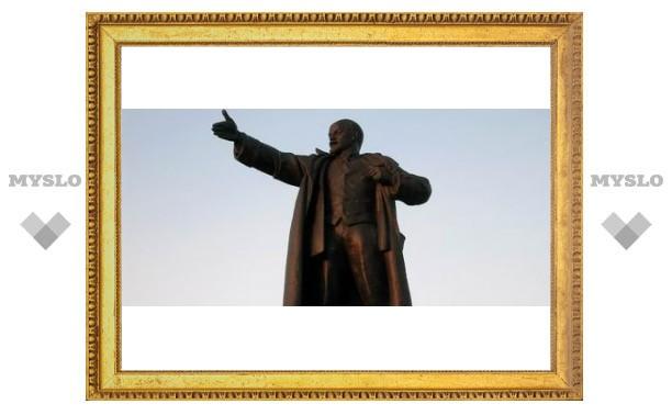 В Донском демонтировали памятник Ленину