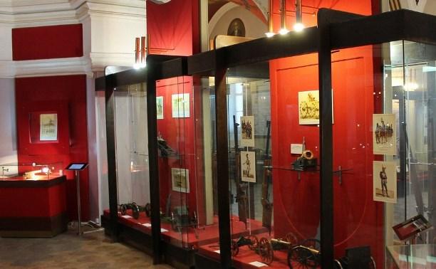 В Тульском кремле открылась выставка достижений мировой артиллерии