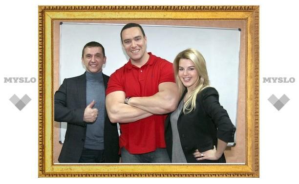 Оксана Сидоренко и Александр Невский приглашают туляков на День здоровья