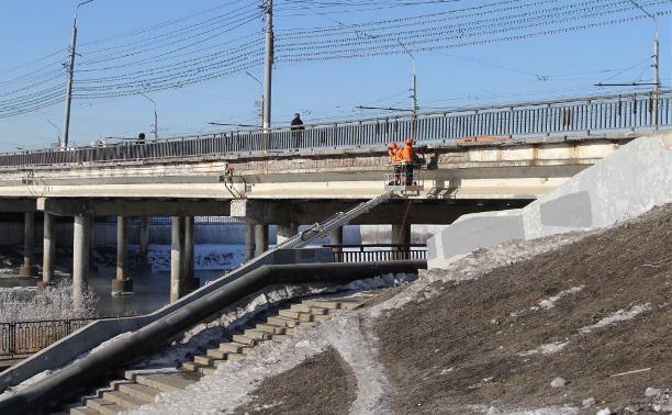 В Туле начали ремонтировать Зареченский мост