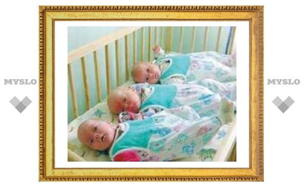 Тульским тройняшкам придумывают имена