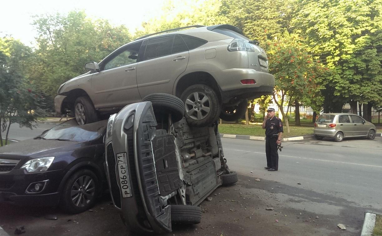 По подозрению в ДТП с «летающим «Лексусом» в Туле установлен житель Московской области
