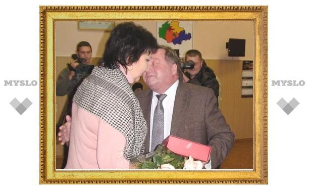 Героиню из Богородицка наградили за спасение человека на пожаре