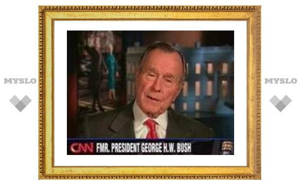 Буш-старший потерял сознание во время игры в гольф