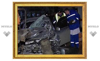 На трассе Тула-Новомосковск столкнулись сразу 4 автомобиля