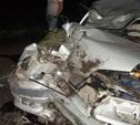 В Кимовском районе легковой автомобиль столкнулся с трактором