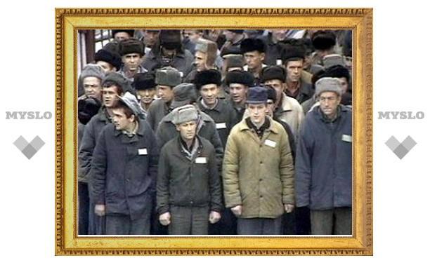 В Тульской области заключенные колонии объявили голодовку