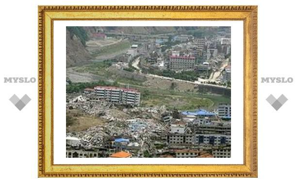 Новое землетясение в Китае: разрушено 420 тысяч домов
