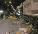 Ночью на трассе М2 в Заокском районе столкнулись 6 автомобилей