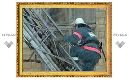 В Туле едва не сгорела пятиэтажка