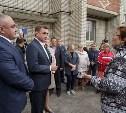 Алексей Дюмин посетил дом в Ясногорске, восстановленный после взрыва