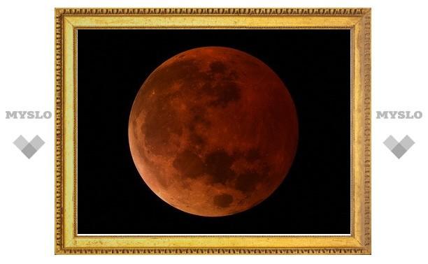 Туляки увидят полное лунное затмение