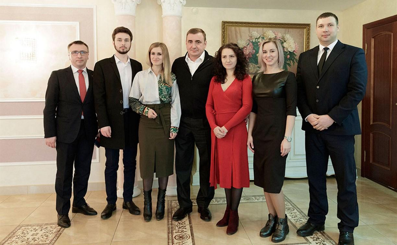 Алексей Дюмин встретился с финалистами премии «Бизнес-успех»