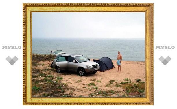 В Тульской области более 100 «диких» пляжей