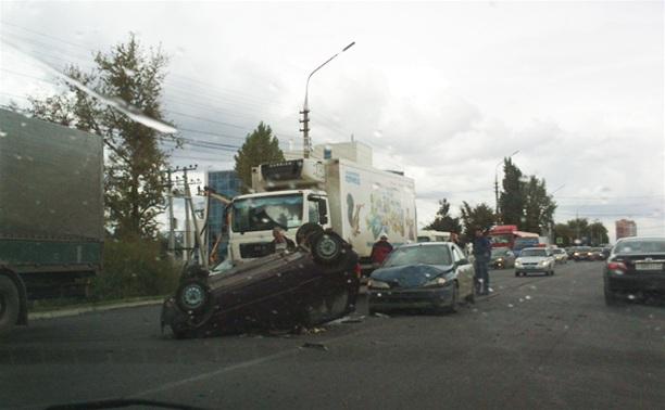 В ДТП в Басово ранены два человека