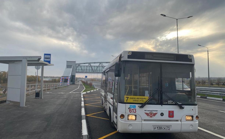 В Туле по Восточному обводу запустили новый автобусный маршрут