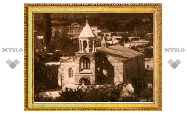 Одна из древнейших церквей Еревана, разрушенная в советские годы, будет восстановлена