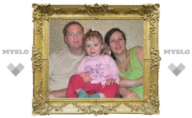 Туляки помогли 3-летней Оксане победить рак