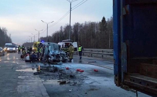 ДТП с тульской маршруткой в Подмосковье: ребенка госпитализировали в тяжелом состоянии