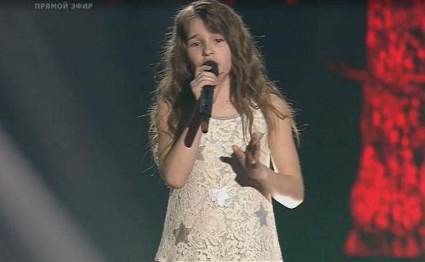Маша Панюкова из Новомосковска выступила в финале шоу «Голос. Дети»