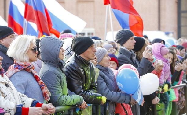 На концерт в честь воссоединения Крыма с Россией пришли 6,5 тысяч туляков