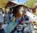 В Туле со двора «Плюшкиной» вывезли несколько грузовиков мусора