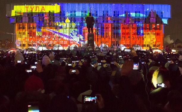 3D-мэппинг-шоу на главной площади Тулы будут показывать каждый вечер