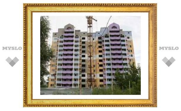В Туле появились цветные дома