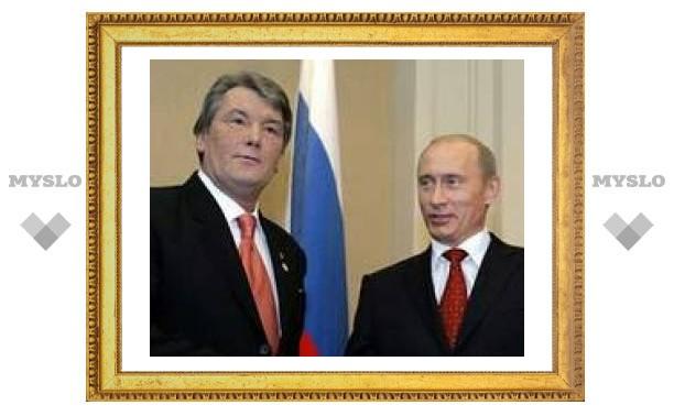 Визит Ющенко в Москву перенесен на апрель