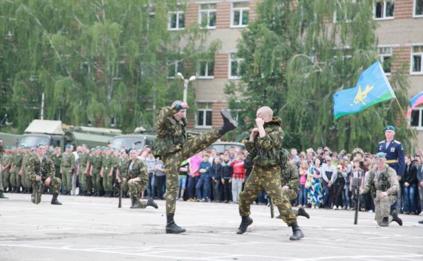 Тульские десантники подготовились ко Дню ВДВ