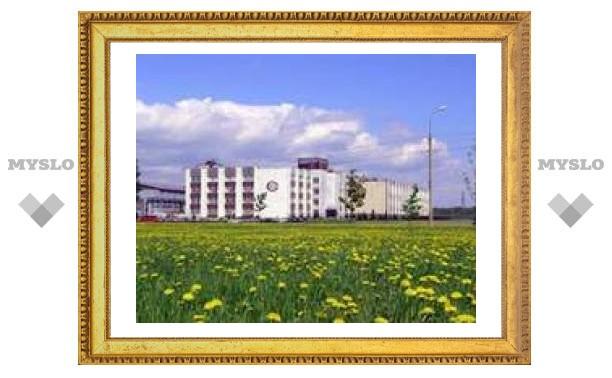 В Новгороде горит завод телевизоров