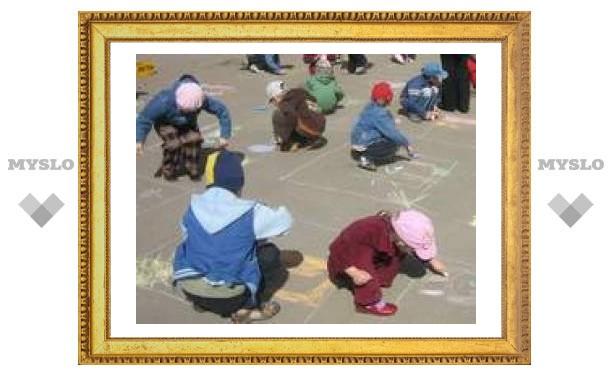 Тульские дети стали художниками