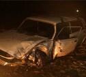 В Кимовском районе грузовая Газель столкнулась с ВАЗ-2105