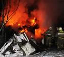 В Туле пожарные потушили сарай рядом с жилым домом