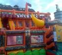 На площади Ленина дети могут бесплатно попрыгать на батуте