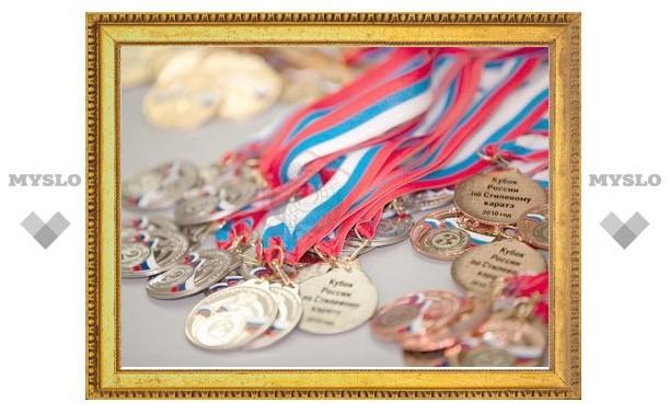 Туляки привезли 48 медалей c Чемпионата страны
