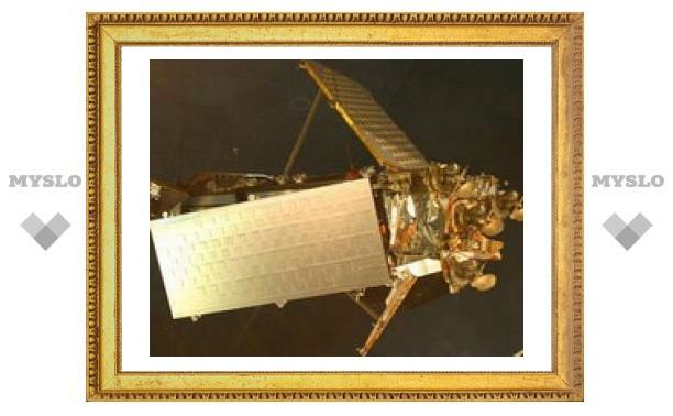 Столкновение спутников в космосе