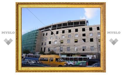 Прокуратура просит признать стройку гостиницы в Туле незаконной