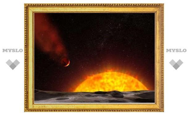 Астрономы нашли планету-комету