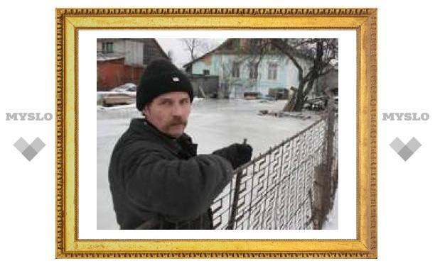 В Хрущево под Тулой начался ледниковый период