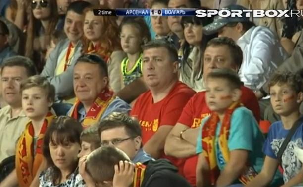 Тульский «Арсенал» сыграл вничью с астраханским «Волгарём» – 1:1
