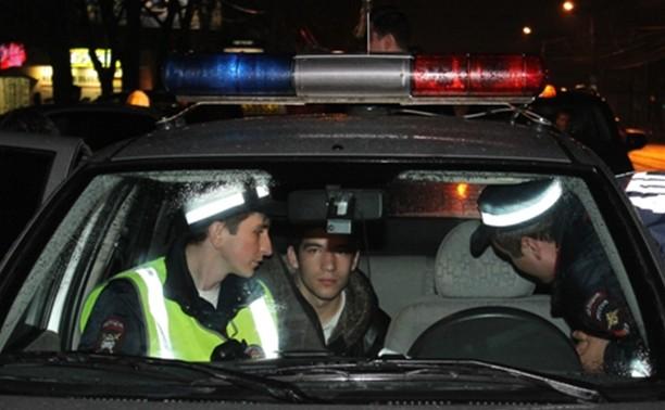 Гаишники охотятся на пьяных водителей