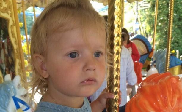 Трехлетней Маше Азаровой нужна помощь в лечении лейкоза