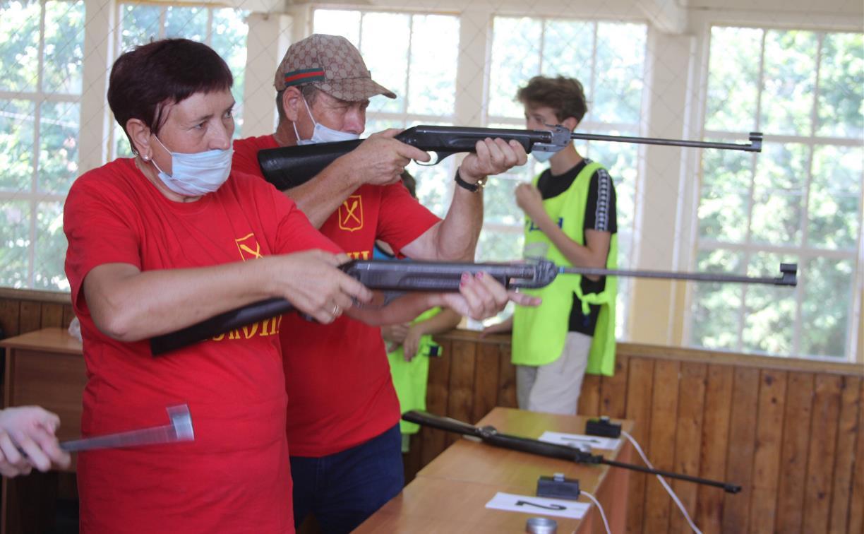 Пенсионеры Тульской области поучаствовали в региональном этапе спартакиады