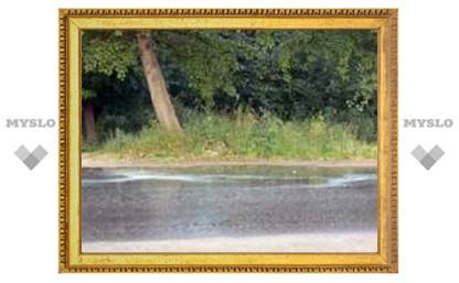 Под Тулой прошел мыльный дождь