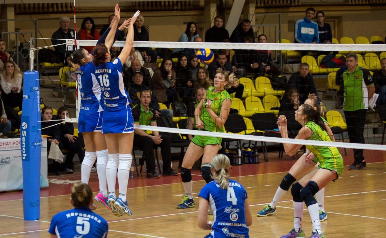 Волейбольная «Тулица» проиграла оба матча команде из Липецка