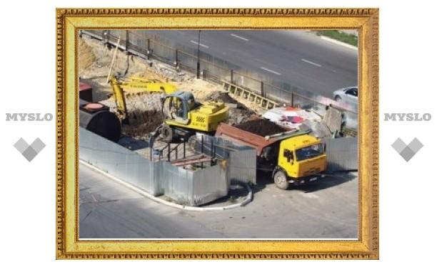 Строительство заправки на улице Пролетарской идет с нарушениями