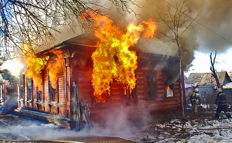В Тульской области снизилось количество пожаров