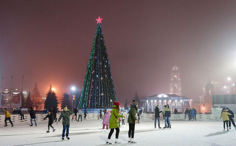 Где тульские студенты смогут бесплатно покататься на коньках